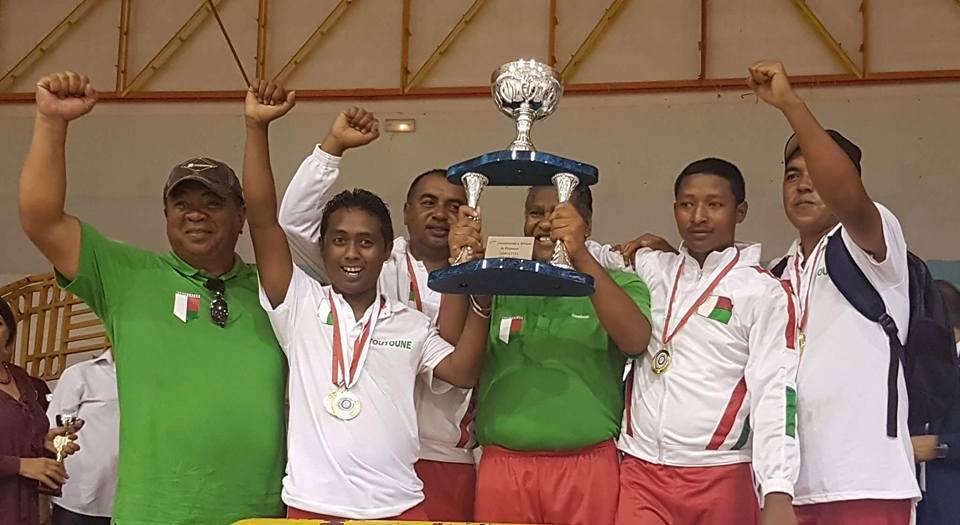 Pétanque – 6e championnat d'Afrique : Madagascar gagne sur les deux tableaux