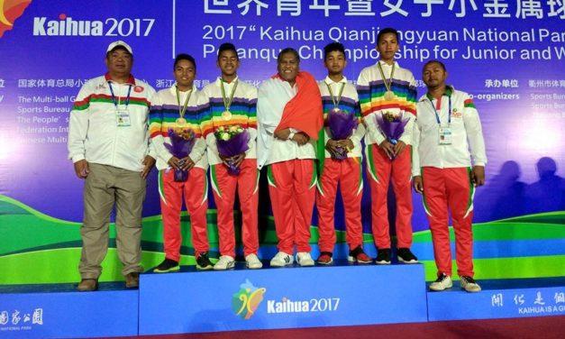 Pétanque – Championnat du monde juniors 2017 : L'équipe Malgache sacré champion du monde