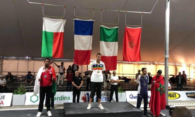 Pétanque- Tirs de précision : Taratra vice champion du Monde