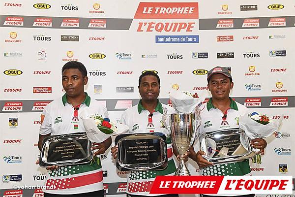 Madagascar a sauvé l'honneur de l'Afrique en gagnant la triplette