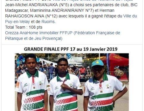 Pétanque- La Grande Finale PPF Tour 2019 : Une équipe du BIC à Fréjus